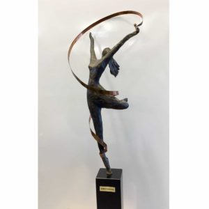 sculpture ribbon dancer