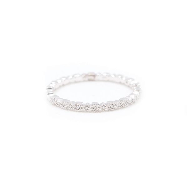 WHITE GOLD DIAMOND WEDDING BAND 1