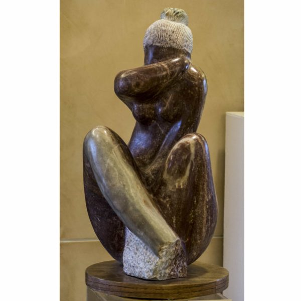 Sculpture – Pensive Woman 1