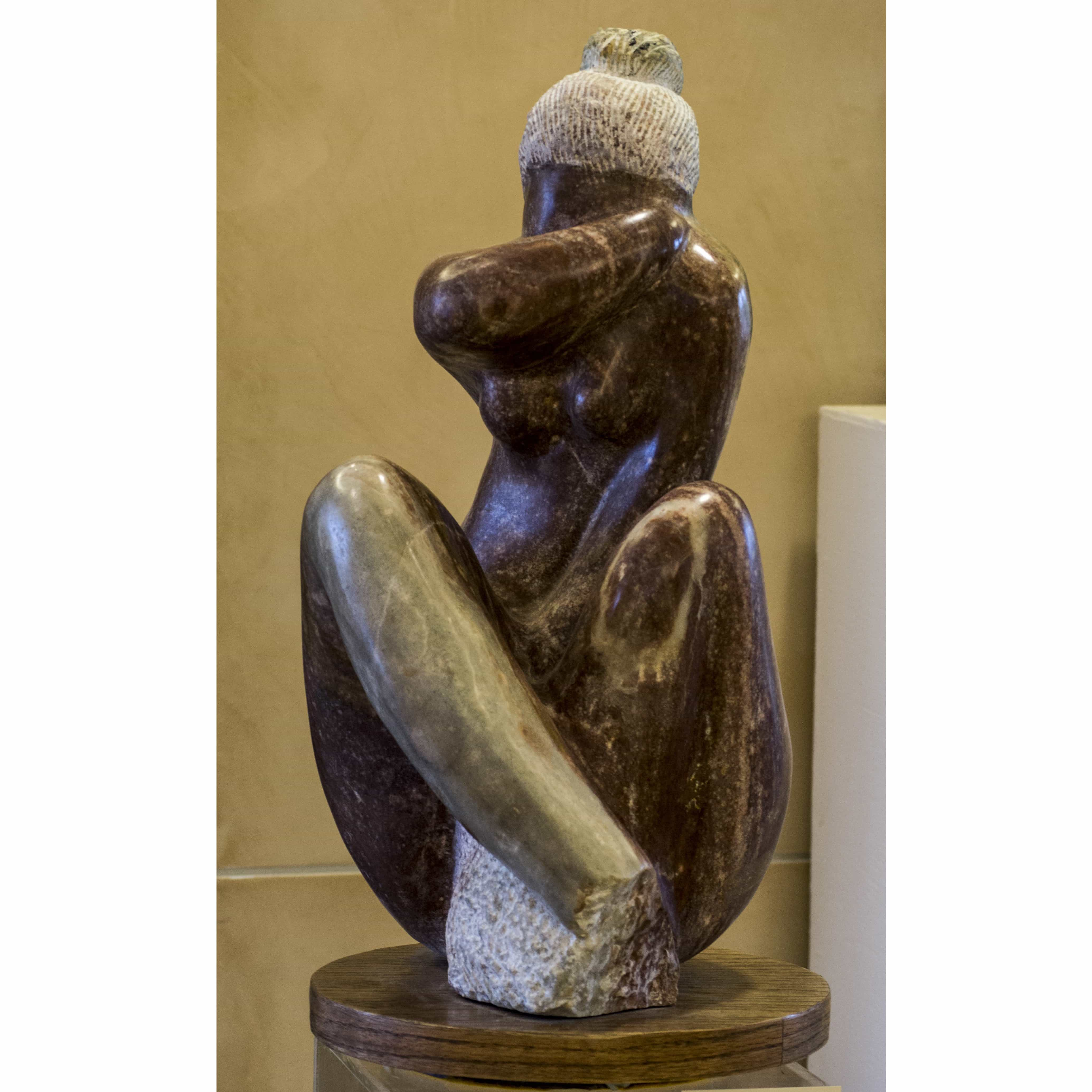 Sculpture - Pensive Woman