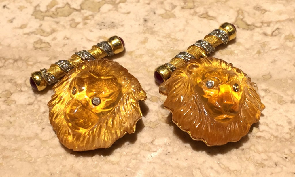 Lion Cuff Links - Argo & Lehne