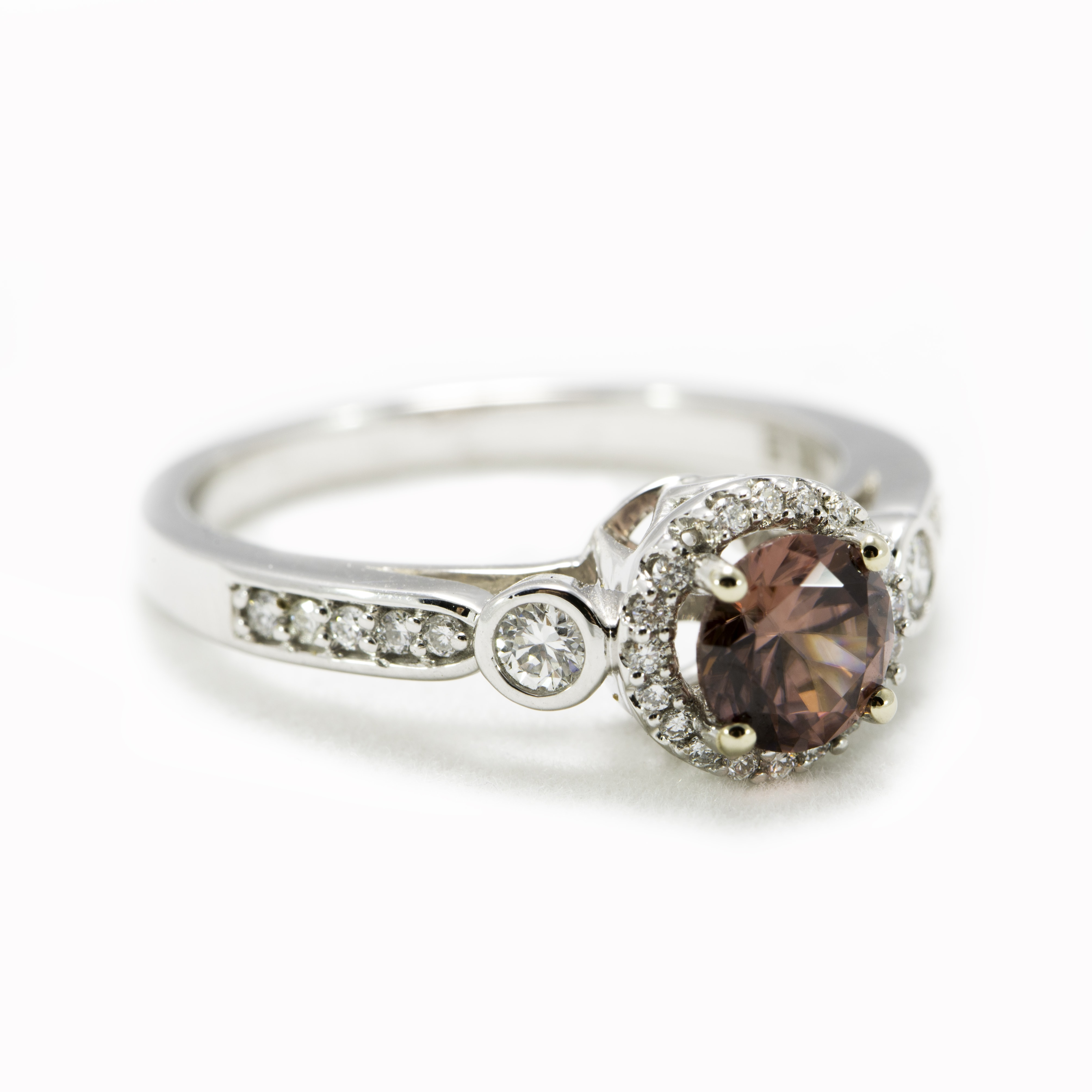 white gold zircon and ring argo lehne jewelers