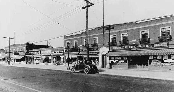 Grandview Avenue Bank Block