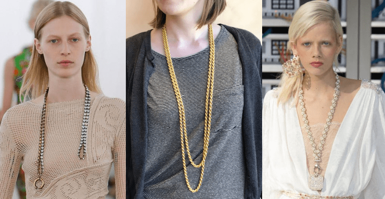 Long Statement Necklace: 2017 Argo & Lehne Style Report