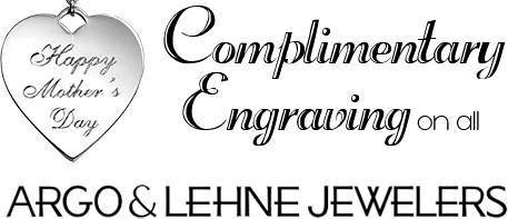 Complementary Engraving on all Argo & Lehne Jewelers