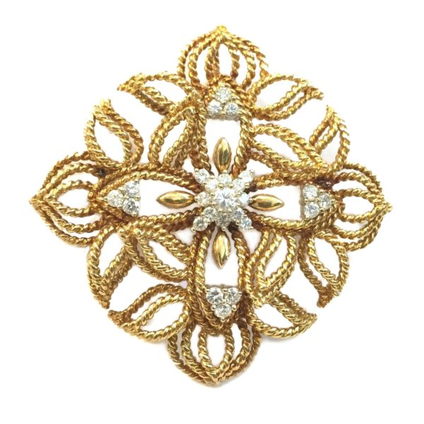 diamond brooch 2