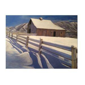 SNOWY SHADOW