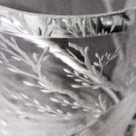 Peacock Vase Detail 3