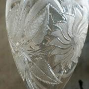 Sunflower Vase Cutting Detail