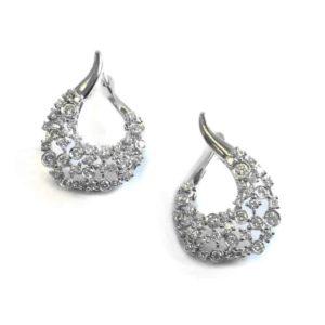 dia earrings